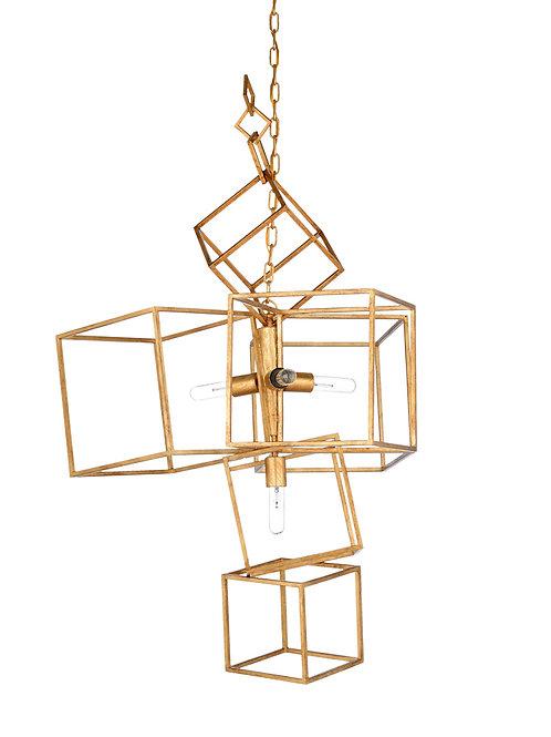 Cubist Chandelier