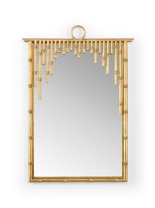 Bamboo Mirror Gold