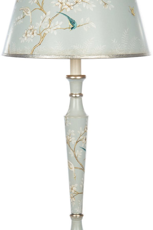 Aris Blue Garden Table Lamp