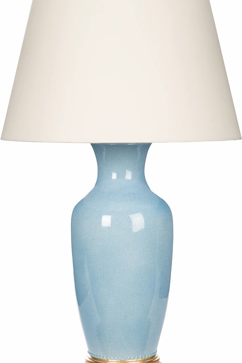 Aventine Blue Table Lamp