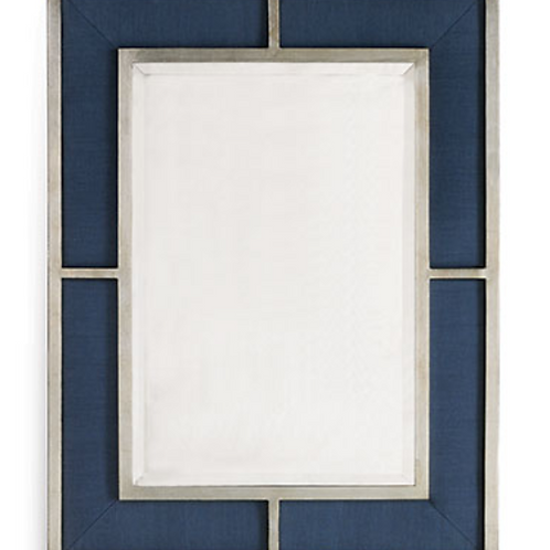 Bedford Silver Mirror/breeze Blue