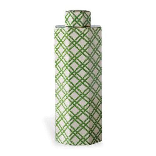 Bamboo Trellis Large Jar