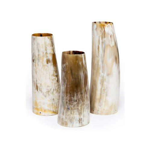 Bayard Horn Vase Set