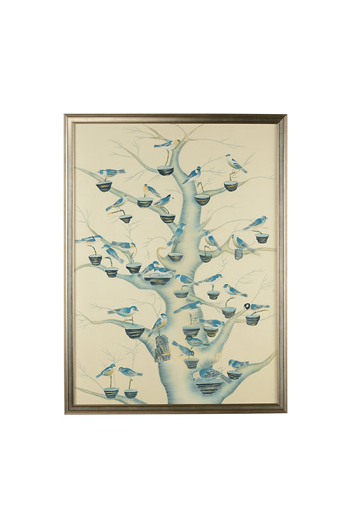 Aviary In Shades Of Blue
