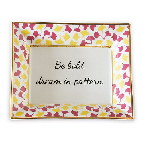 Be Bold Plate set of 2