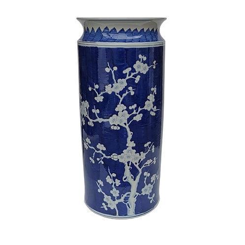 Blue Plum Blossom Umbrella Stand