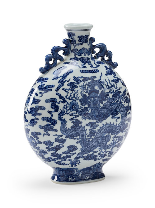 Blue And White Collectors Bottle