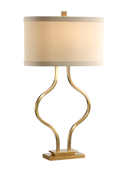 Brass Bow Lamp