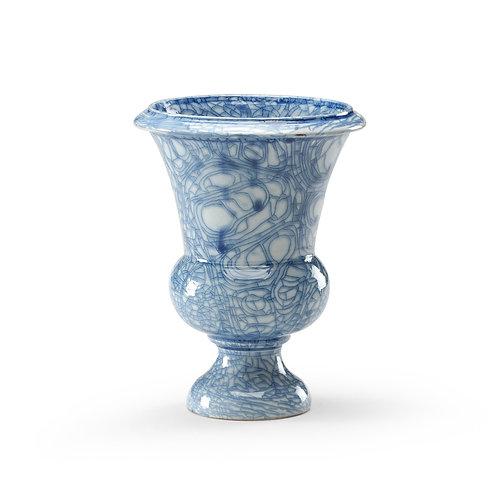 Blue Footed Vase
