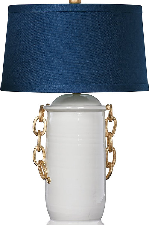 Blue Chanel Table Lamp