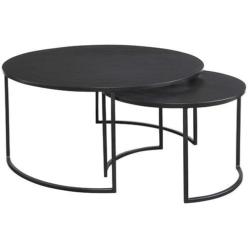BARNETTE NESTING COFFEE TABLES S/2