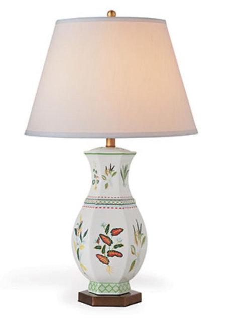 Botanical Palm Table Lamp