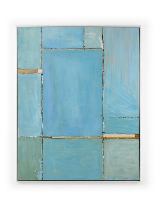 Blue Mood Painting