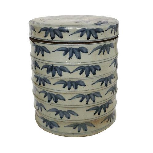 Blue And White Bamboo Dim Sum Box