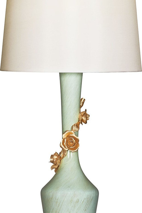 Avril Rose Bleu Table Lamp