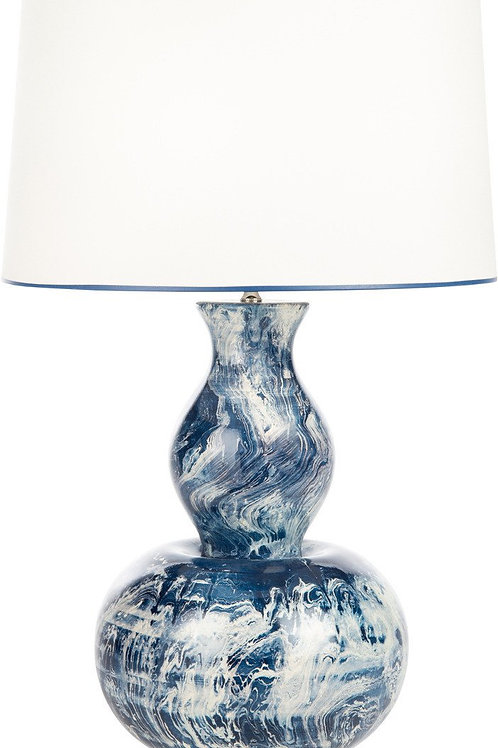 Blue Monterey Table Lamp