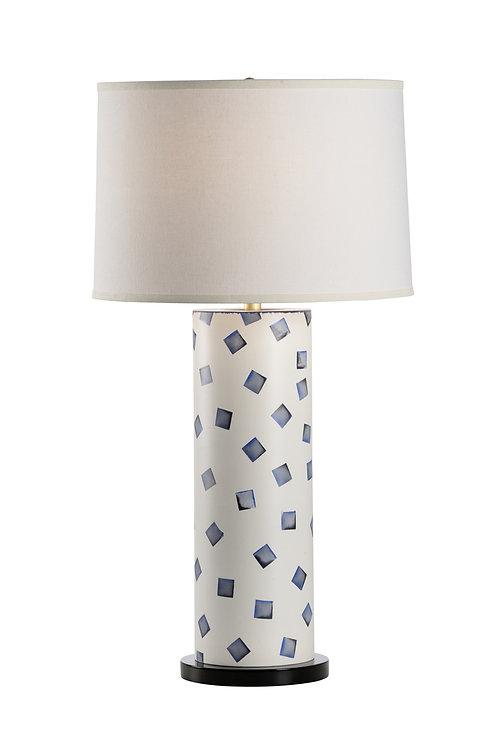 Blue Augusta Lamp