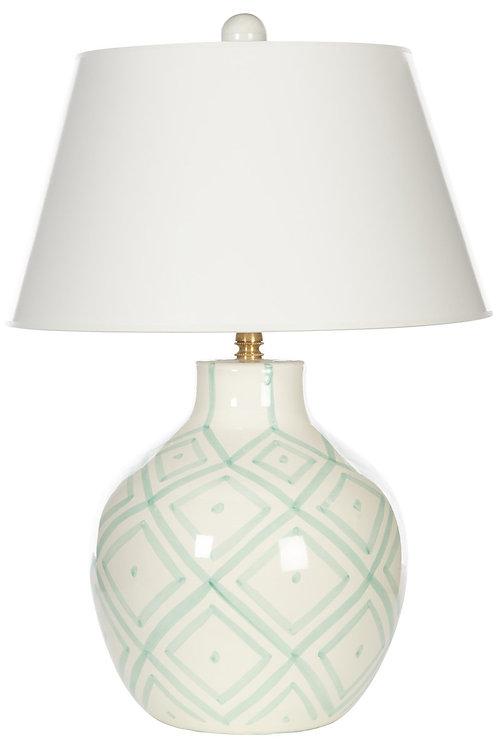 Aqua Prism Table Lamp
