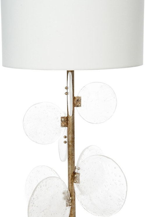 Artesian Glass Table Lamp