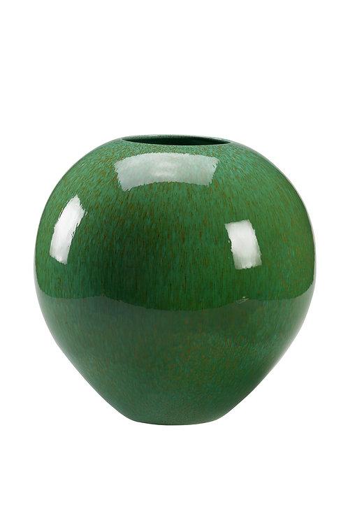 Adam Vase-Mottled Green
