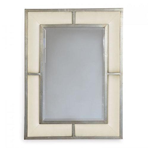 Bedford Silver Sandstone Mirror