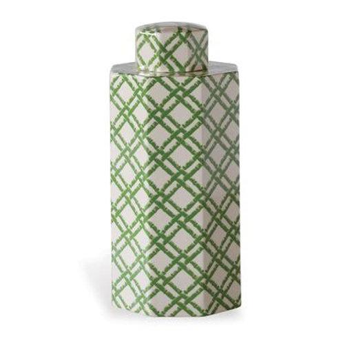 Bamboo Trellis Small Jar