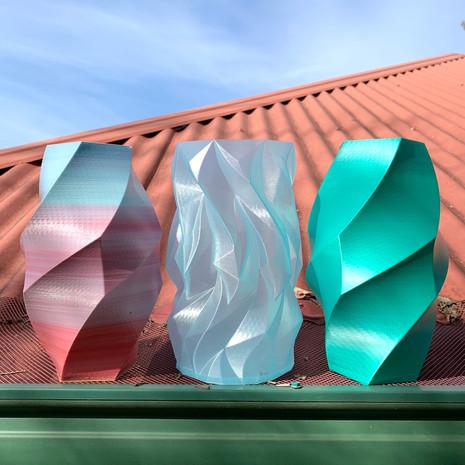 Doceca & Glacier Vases
