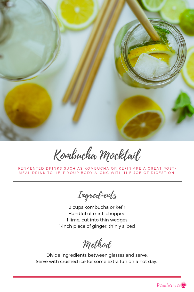 Kombucha Mocktail Recipe