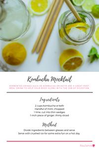 Kombucha Mocktail Recipe