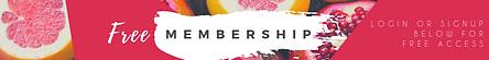 Free Membership Login and Signup Bar