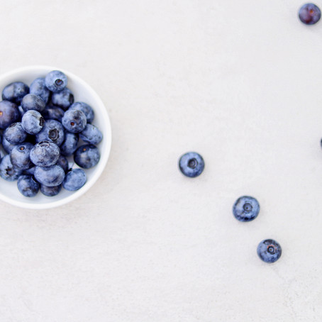 Blueberry Coconut Chia Smoothie