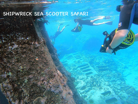 Shipwreck Sea Scooter Safari