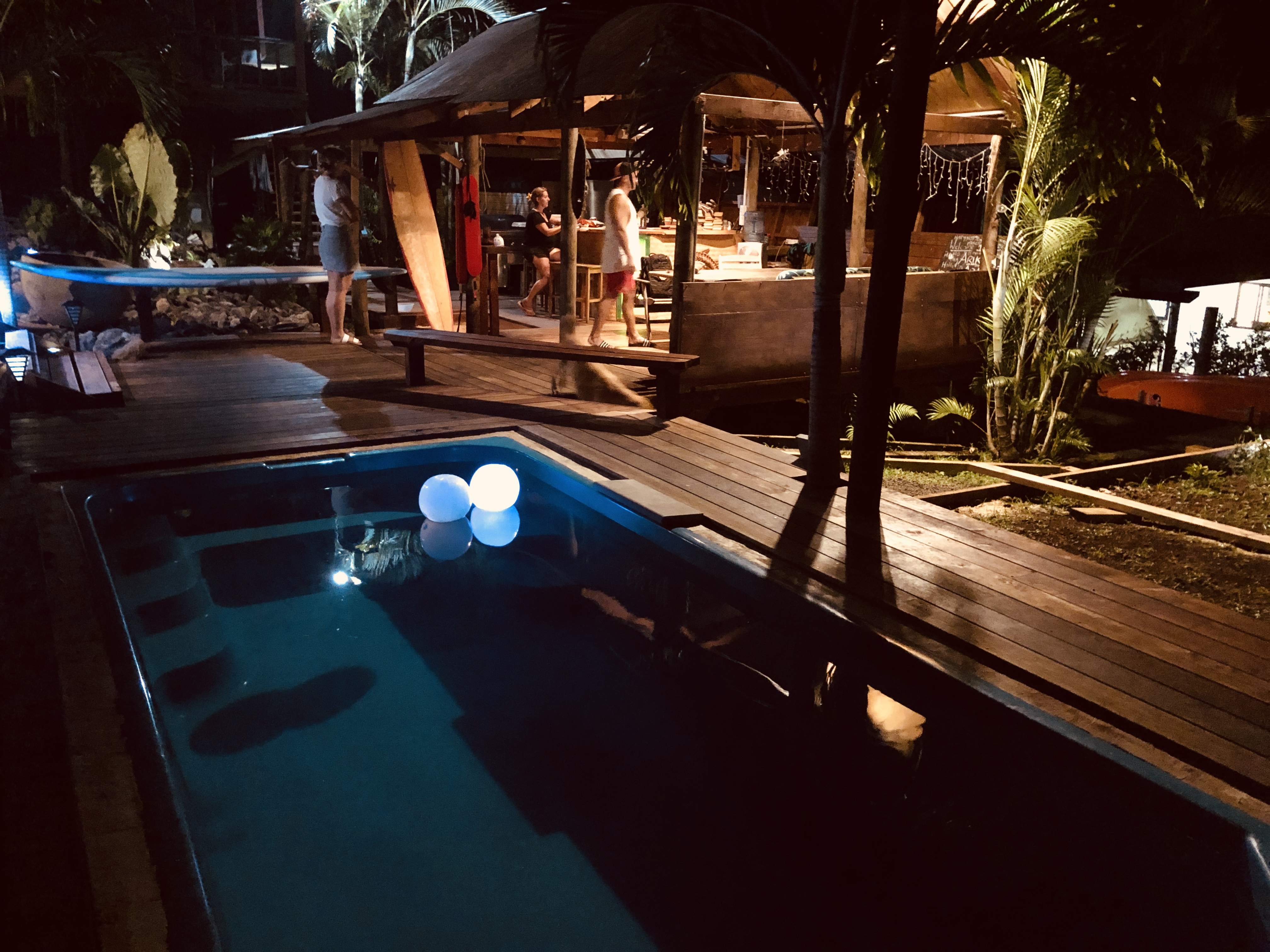 Night Bar Pool