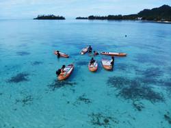 SUP Fit Classes Muri Lagoon