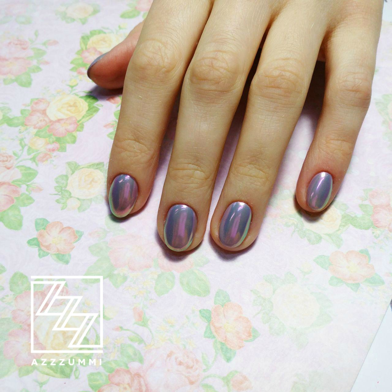 Azzzummi_nails_ 1905_аврора