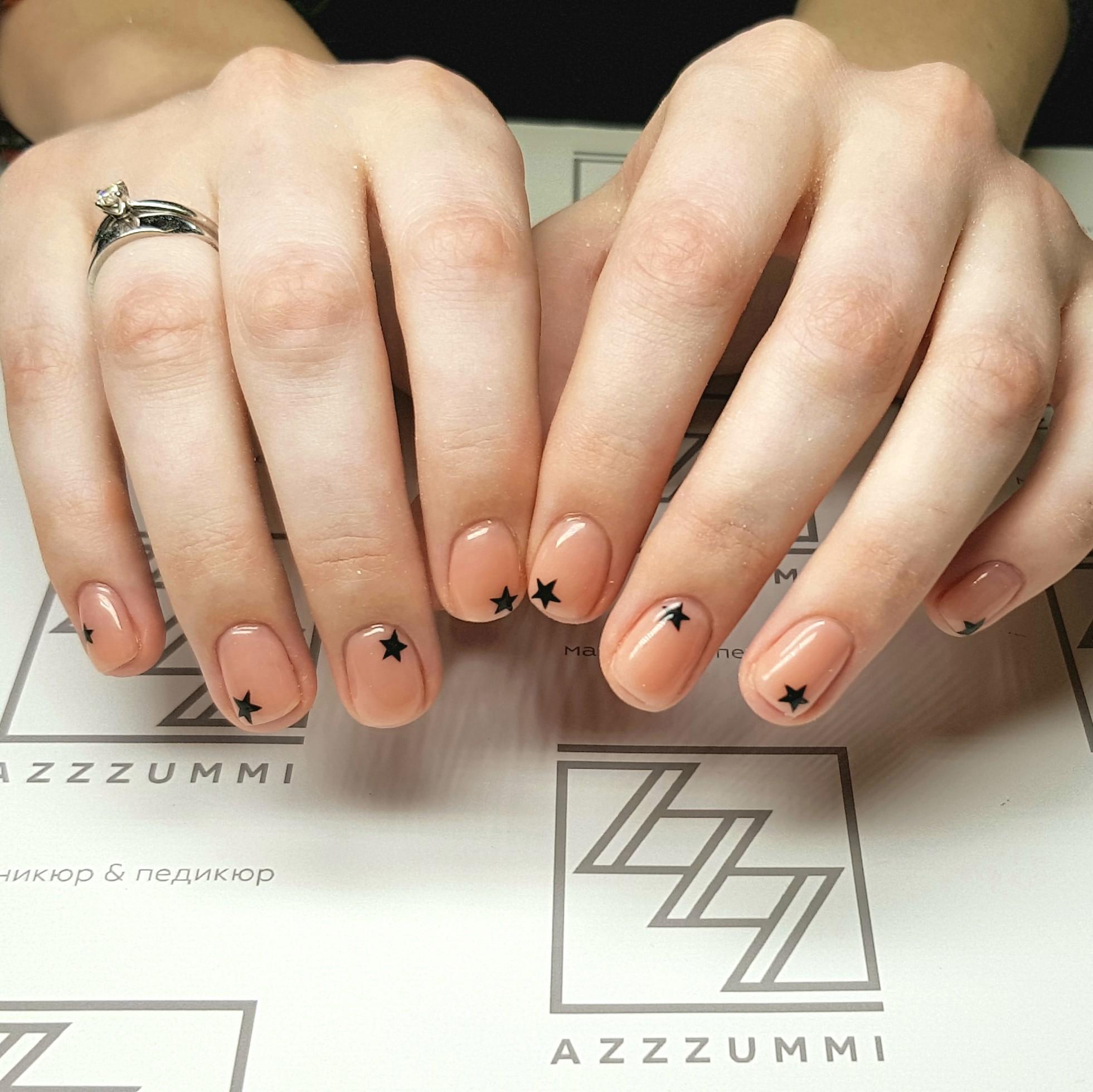 Azzzummi_nails_ 1905_звезды
