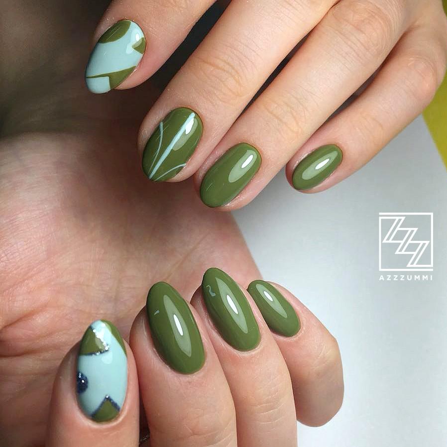 Azzzummi_nails_ 1905_хаки