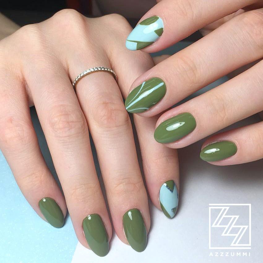 Azzzummi_nails_ 1905_хаки2