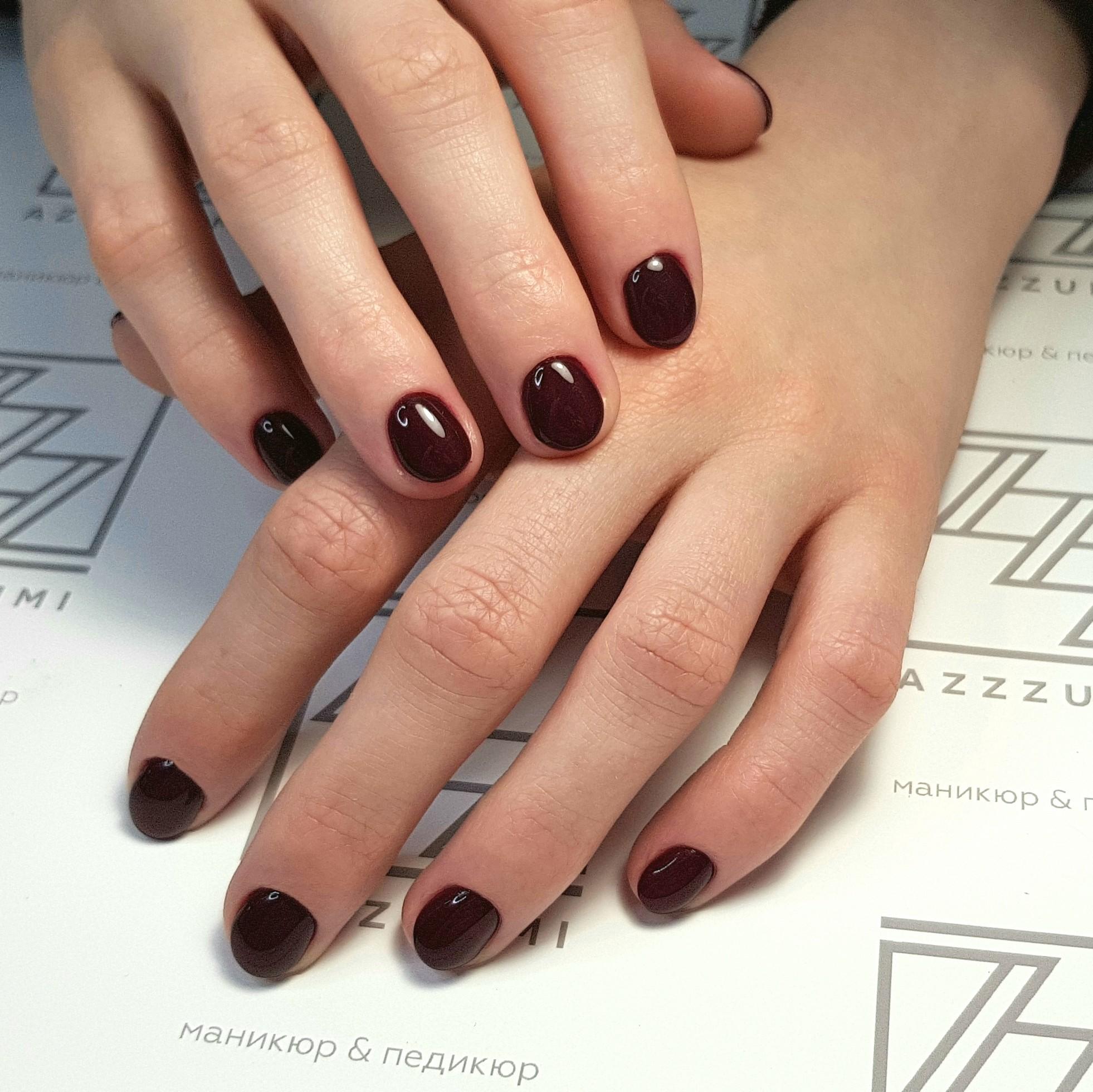 Azzzummi_nails_ 1905_темноебордо