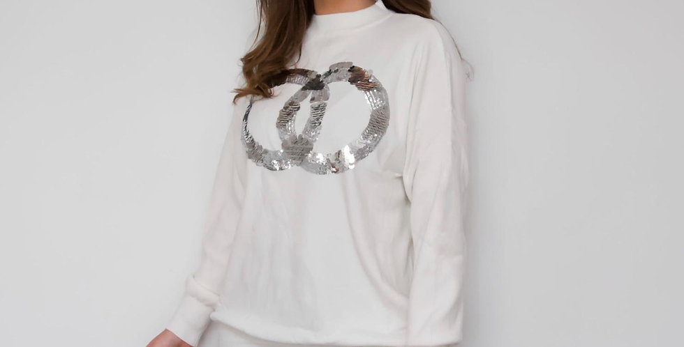 Sequin Ring Jumper