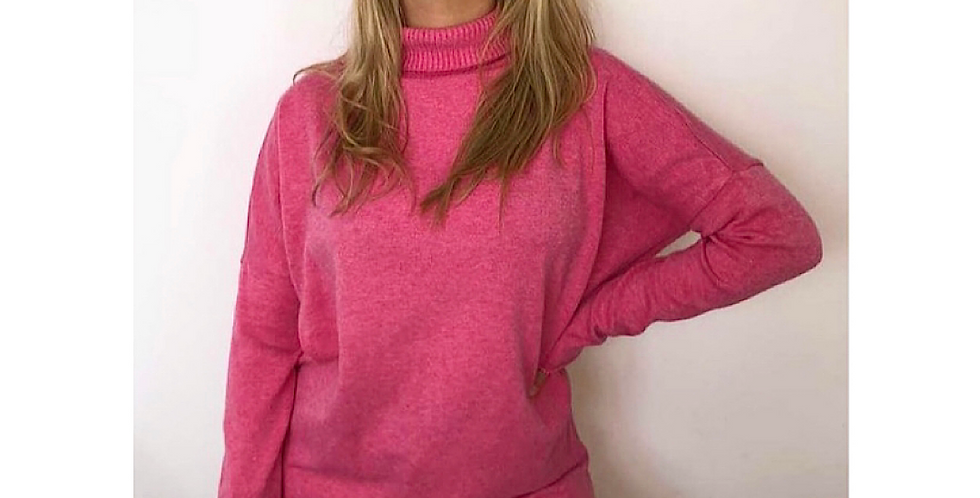 Pink Split Jumper