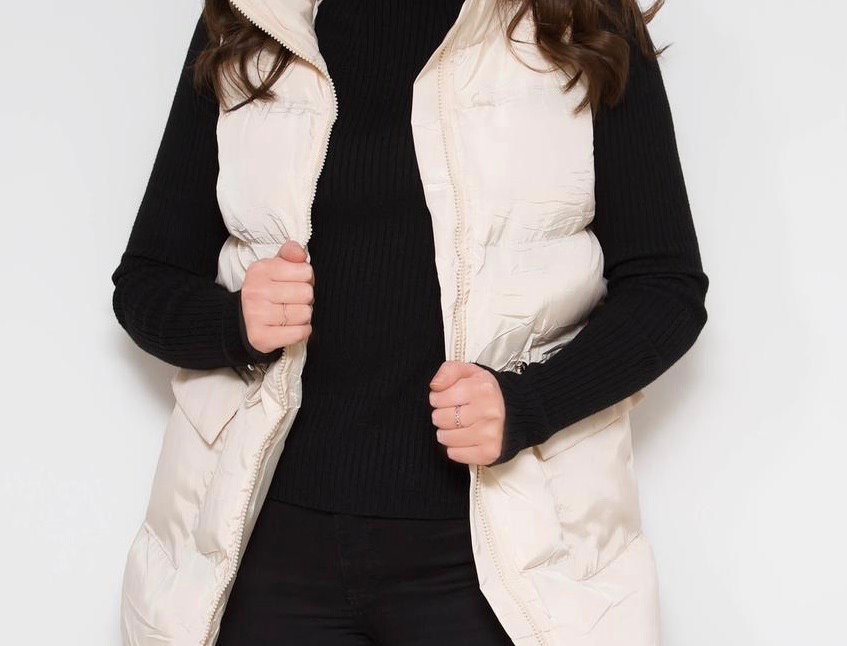 Cream Bodywarmer