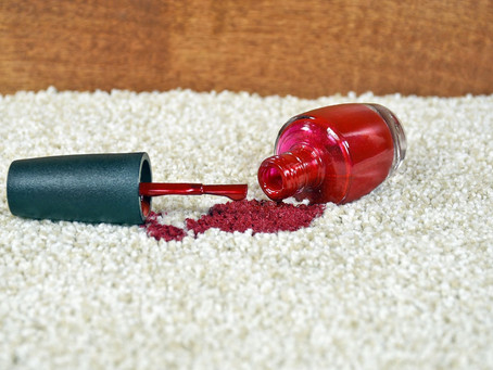 Here's the Best way to remove nail polish stains from your home's carpet all by yourself!