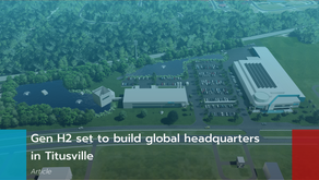 Gen H2 set to build global headquarters in Titusville
