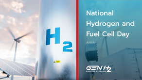 National Hydrogen and Fuel Cell Day on October 8, 2021