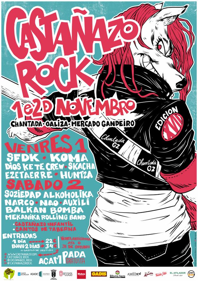 Festival Castañazo Rock 2019
