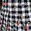 Thumbnail: Minigonna pop plissè nera - REBEL