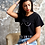 Thumbnail: T-Shirt seno black - REBEL