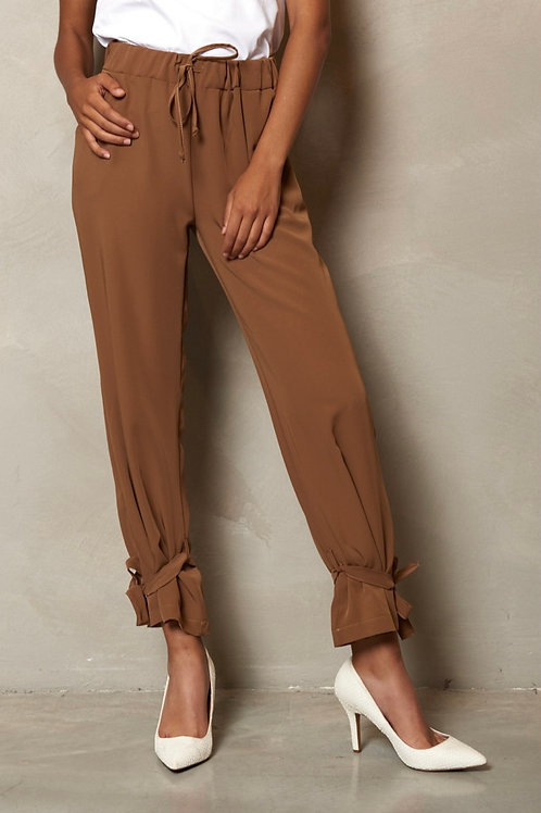 Pantalone con lacci - KIKISIX