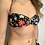 Thumbnail: Bikini Nadine fiori nero - Matinée